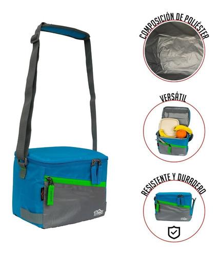 lonchera bolso térmico porta comida ajustable 4 lt ecology