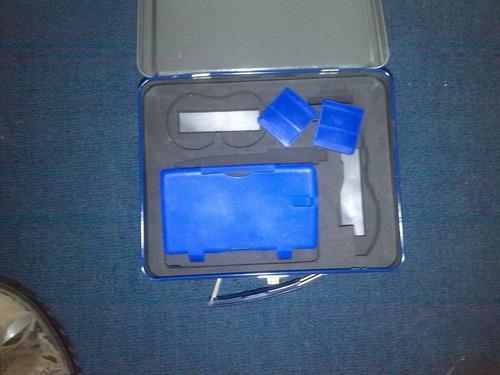 lonchera de metal kit de accesorios para nintendo ds