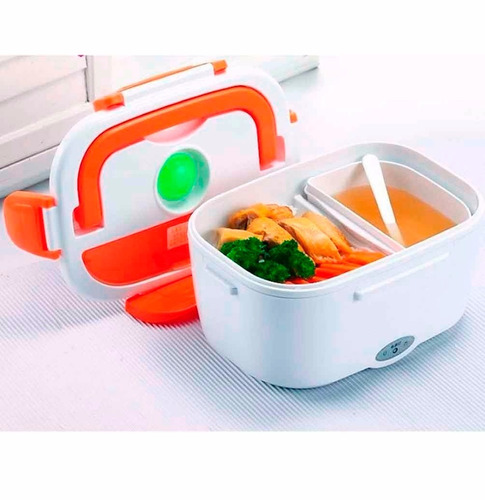 lonchera electrica portatil calentador comidas corriente