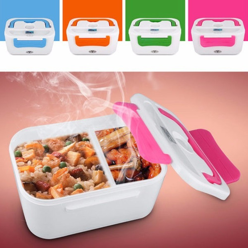lonchera electrica portatil, calienta la comida, lunchbox