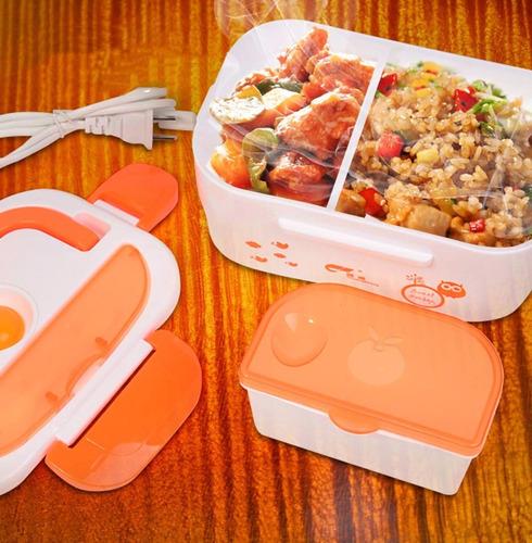 lonchera electrica vianda porta comida ideal para oficinista