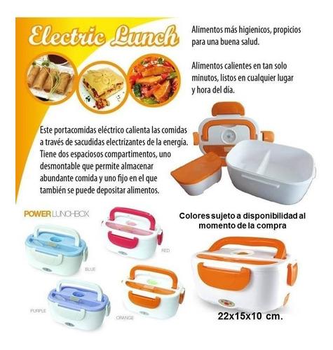 lonchera porta comidas electrica practica segura