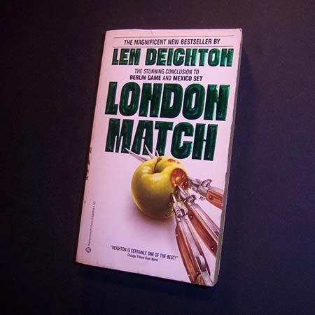 london match . len deighton . en inglés