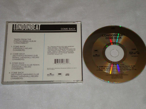 londonbeat - come back remixes cd promo bmg rca
