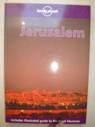 lonely planet jerusalem / jerusalén