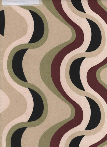 loneta de algodon impermeable estampada