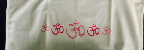 loneta estampada om para yoga