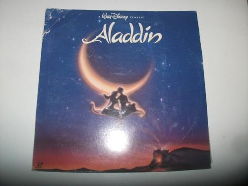 long play aladdin walt disney hecho en japon coleccionable