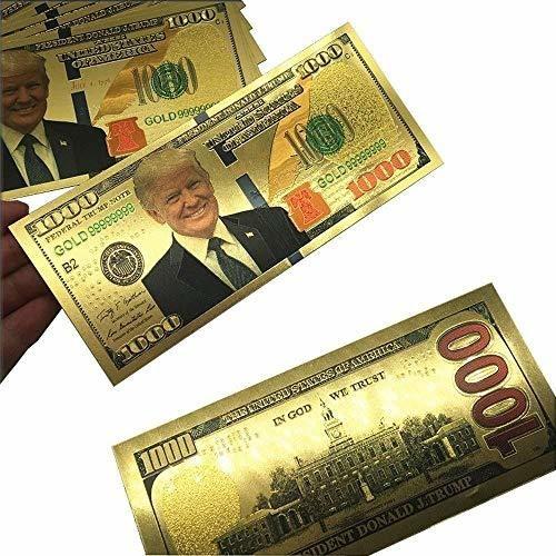 trump 1000 dollar bill