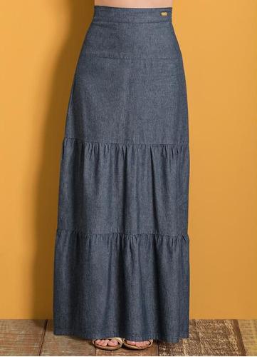 longa feminina saia