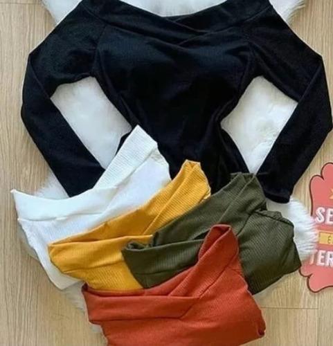 longa feminino body manga
