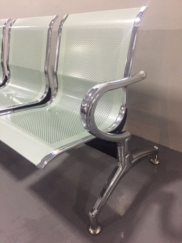 longarina cadeira espera 2 lugares consultórios clínicas