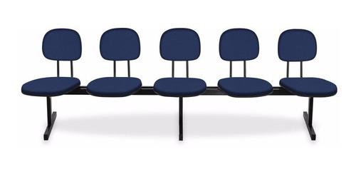 longarinas e cadeiras para igrejas - 5 lugares injetada