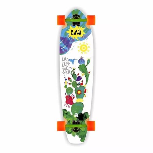 longboard completo lab plants 92 cm x 23 cm