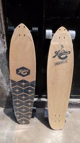 longboard marca malibu maple canadiense completamente nuevo