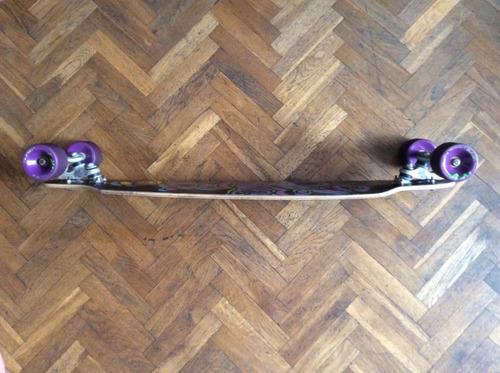 longboard sector 9 y ruedas orangatang completo