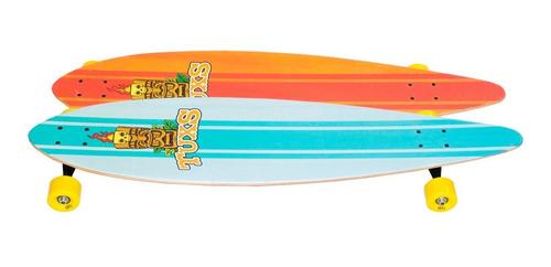 longboard tuxs totem maple canadiense abec-7 ruedas 65mm