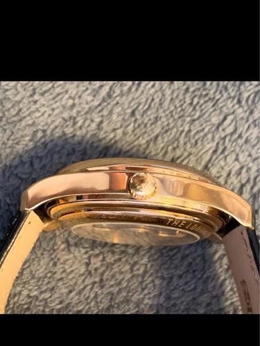 longines de ouro puro 42mm 120 gramas de ouro puro