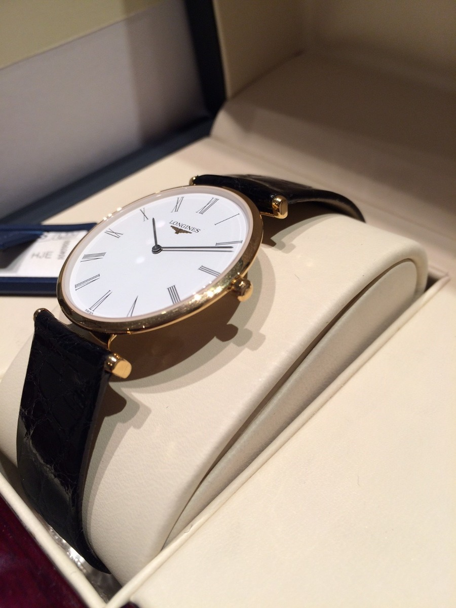 8e9f61b93ee1 Reloj Longines Extraplano Mod La Grande Classique Hombr Cuer ...