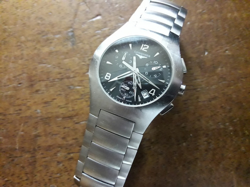 longines opposition chronograph swiss made sapphire original