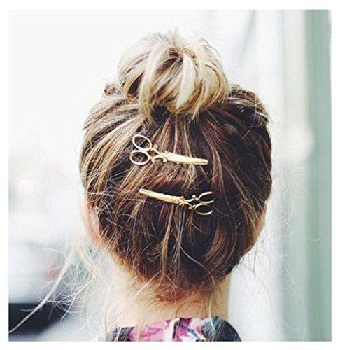 longitud 6.5cm aleación joyería de pelo único diseñador est