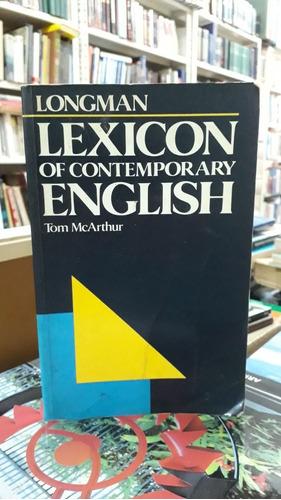 longman lexican of contemporary english