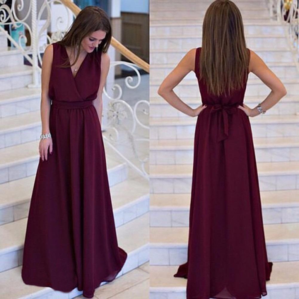 Vestidos lindos longos mercadolivre
