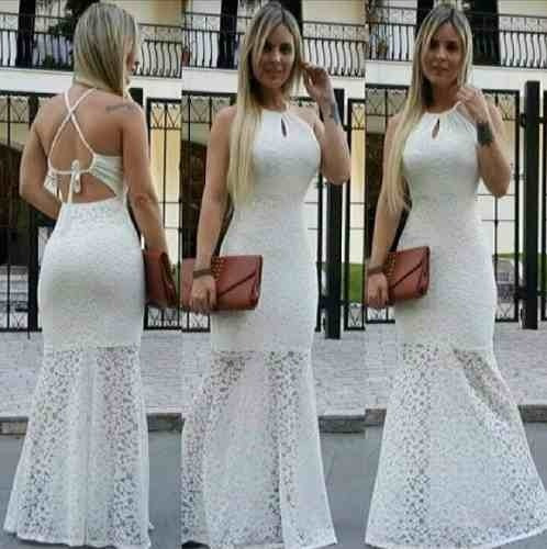 214aed01c vestido longo festa renda casamento bojo madrinha sereia · vestido longo  festa · longo festa vestido