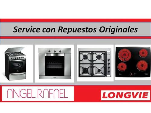 longvie service horno, cocina, estufa, calefón, anafe