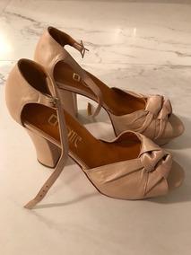 3735fbf0e2c4 Lonte Zapatos Mujer Talle 39 Beige