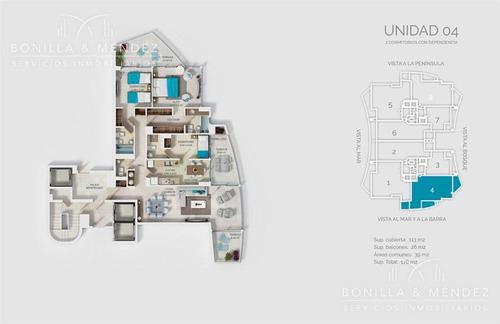 look brava, 2 dormitorios en suite, toilette, dep, parrillero propio