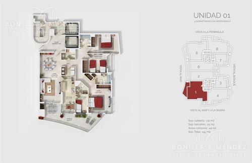 look brava, 2 dormitorios en suite   toilette   dependencia