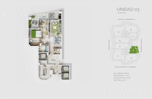 look brava, 2 dormitorios en suite y toilette