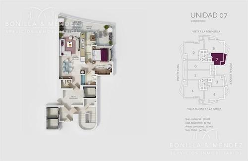 look brava, magnífica unidad de 1 dormitorio en suite, toilette, parrillero en balcón!