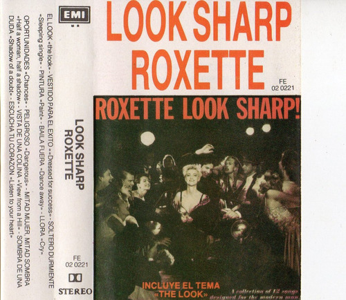 look sharp roxette incluye el tema the look