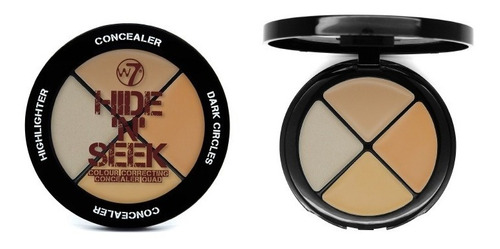 look sombras w7 life´s a peach