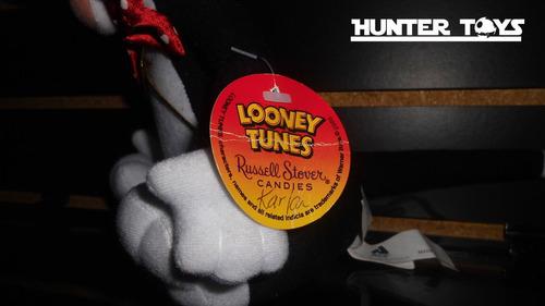 loonery tunes, silvestre, enamorado, peluche, tel. 35846340
