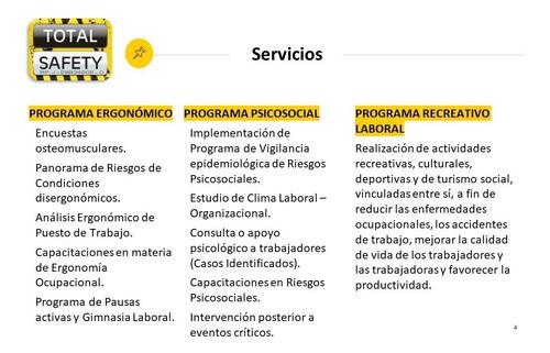 lopcymat / seguridad y salud laboral / medicina ocupacional