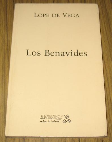 lope de vega : los benavides - literatura españa