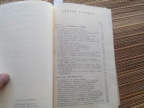 lópez. filosofía española contemporánea. 1970.