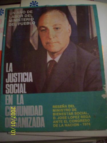 lopez rega reseña del año 1974 ante el congreso ep. peron