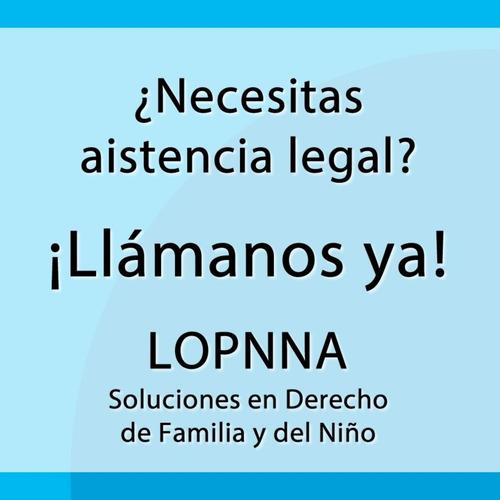 lopnna soluciones en derecho de familia y del niño