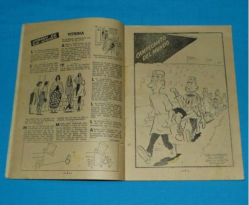 loquibambia 10 semanario humor peruano 1954 comic antiguo
