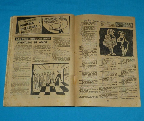 loquibambia n° 5 semanario humor 1954 comic peruano antiguo