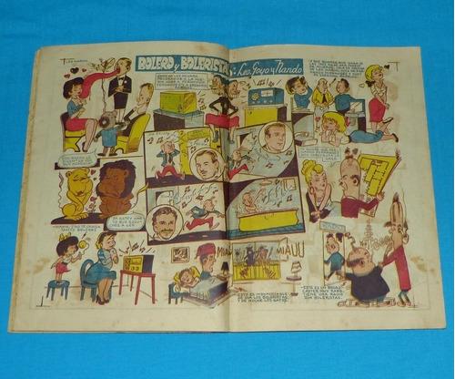 loquibambia semanario humorístico 1954 comic peruano antiguo