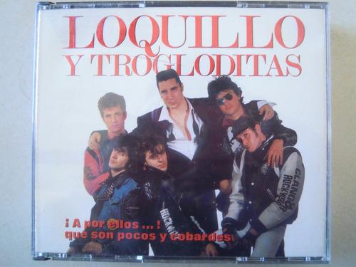 loquillo y los trogloditas cd doble importado españa colecci