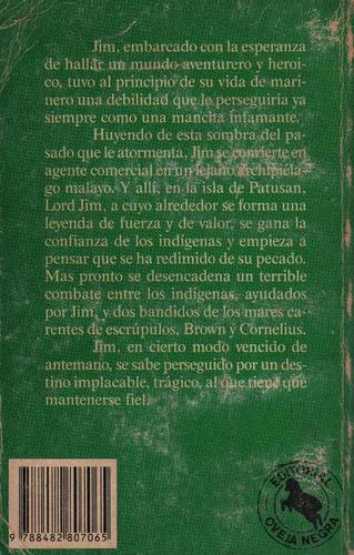 lord jim joseph conrad literatura de aventuras bibliofilos