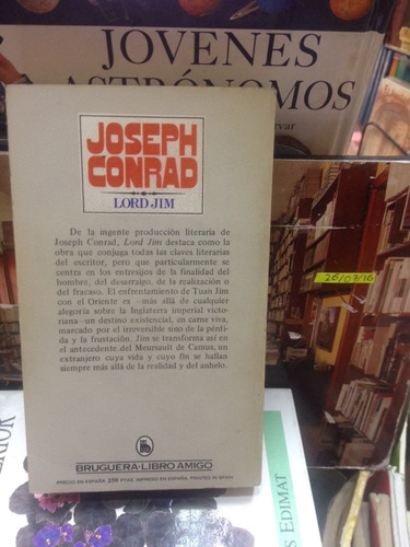 lord jom - joseph conrad - ed. bruguera - 1981