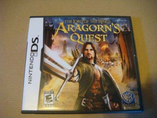 lord of the rings aragorns quest / nintendo ds lite dsi 3ds