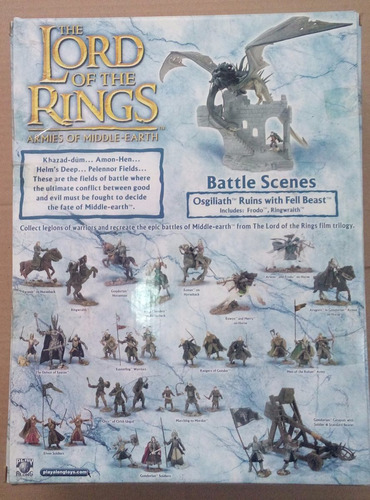 lord of the rings osgiliath ruins with fell beast play along